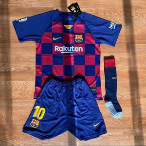 Nike FC Barcelona Youth Size #10 Messi